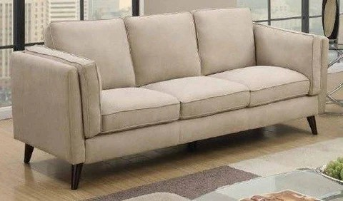 beige sofa set how big is a bed contemporary 3 piece microfiber foodgles marketplace