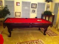 (SOLD) Used Pro 8' ProLine Pool Table  coolpooltables.com