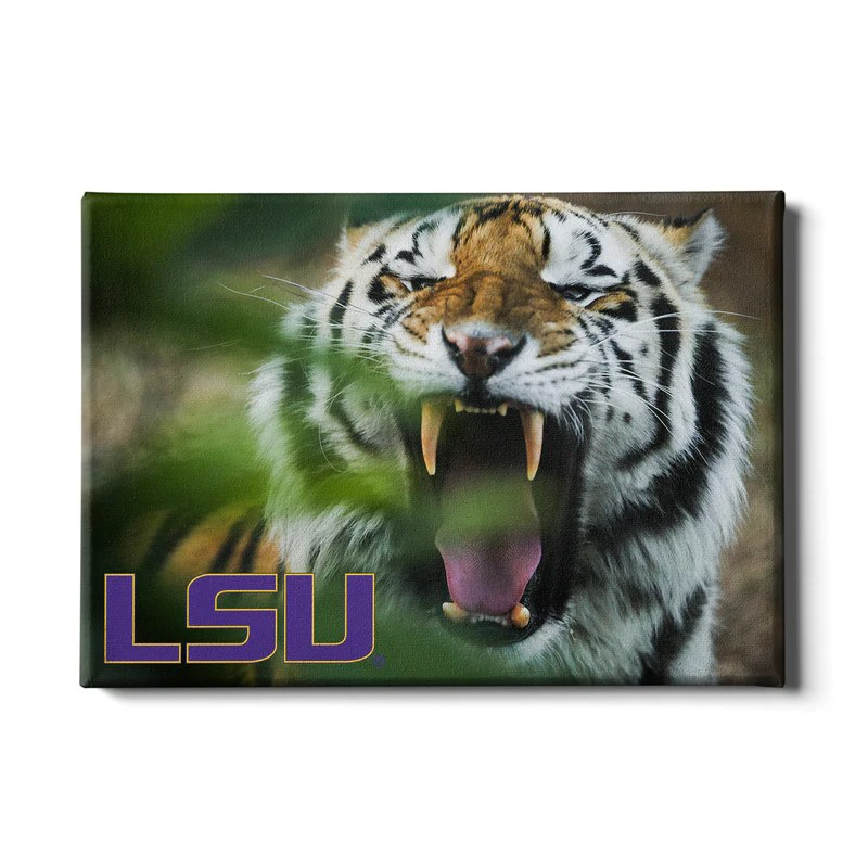 LSU Tigers quotMike the Tigerquot Officially Licensed Wall Art