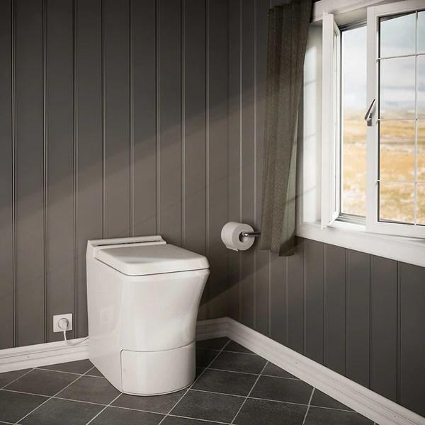 Incineration Toilet  Electric Incinerating Toilet