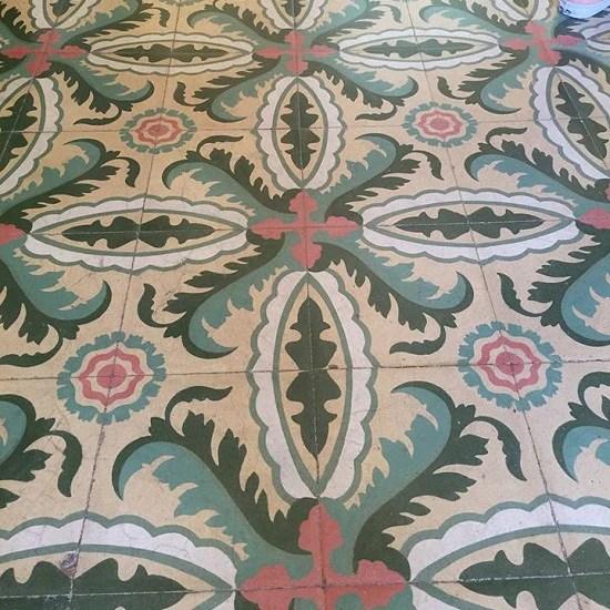 cuban cement tile pattern inspiration