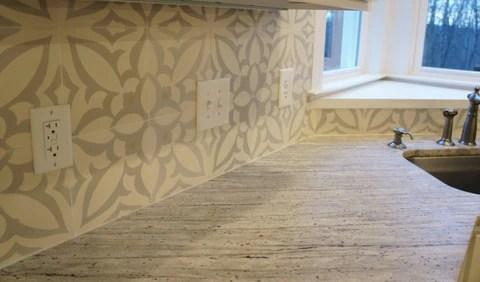 hip cement tile pattern makes a