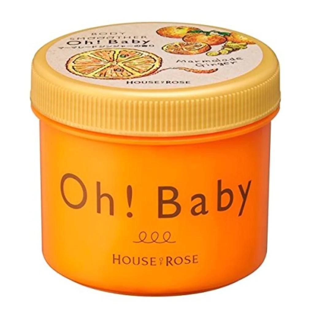 日本 House of Rose Oh Baby 柚子姜味身體去角質磨砂膏 (范冰冰推介) – Vanessa Beauty
