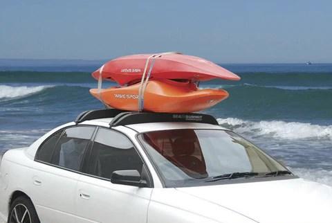 how to transport a kayak a