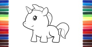 unicorn drawing simple step children unicorns draw drawings play paintingvalley child chu articles lovers