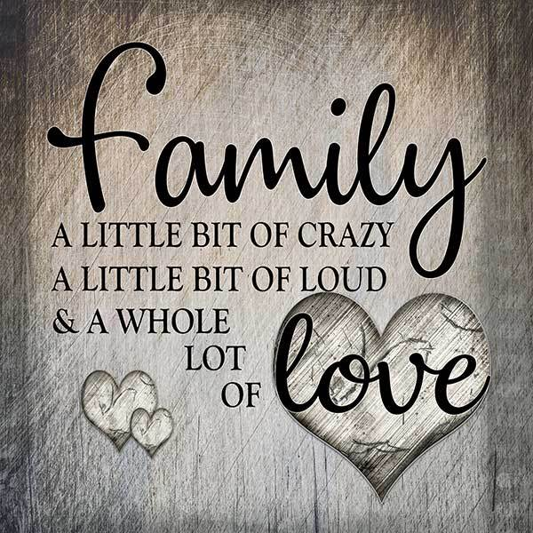 """Download """"Family.. Love"""" Premium Square Canvas - GearDen"""