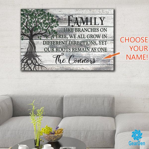 personalized family tree premium