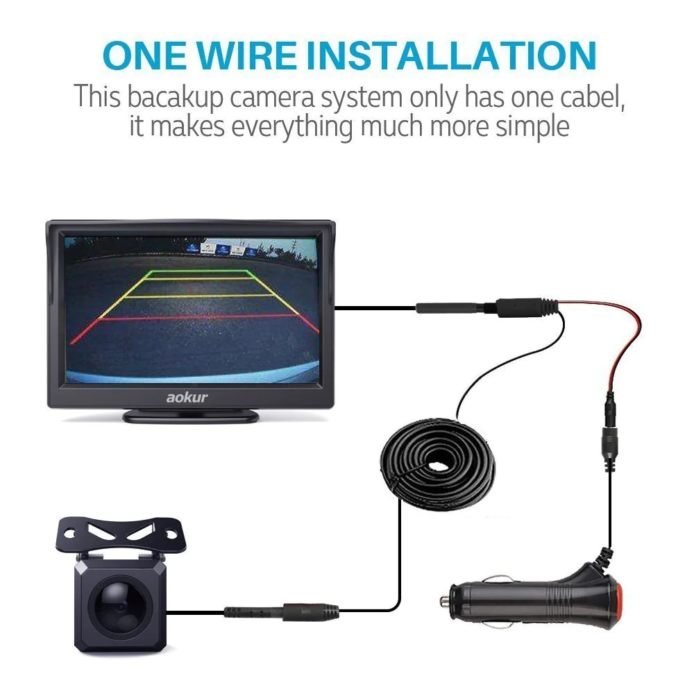 small resolution of wireles backup camera wiring up