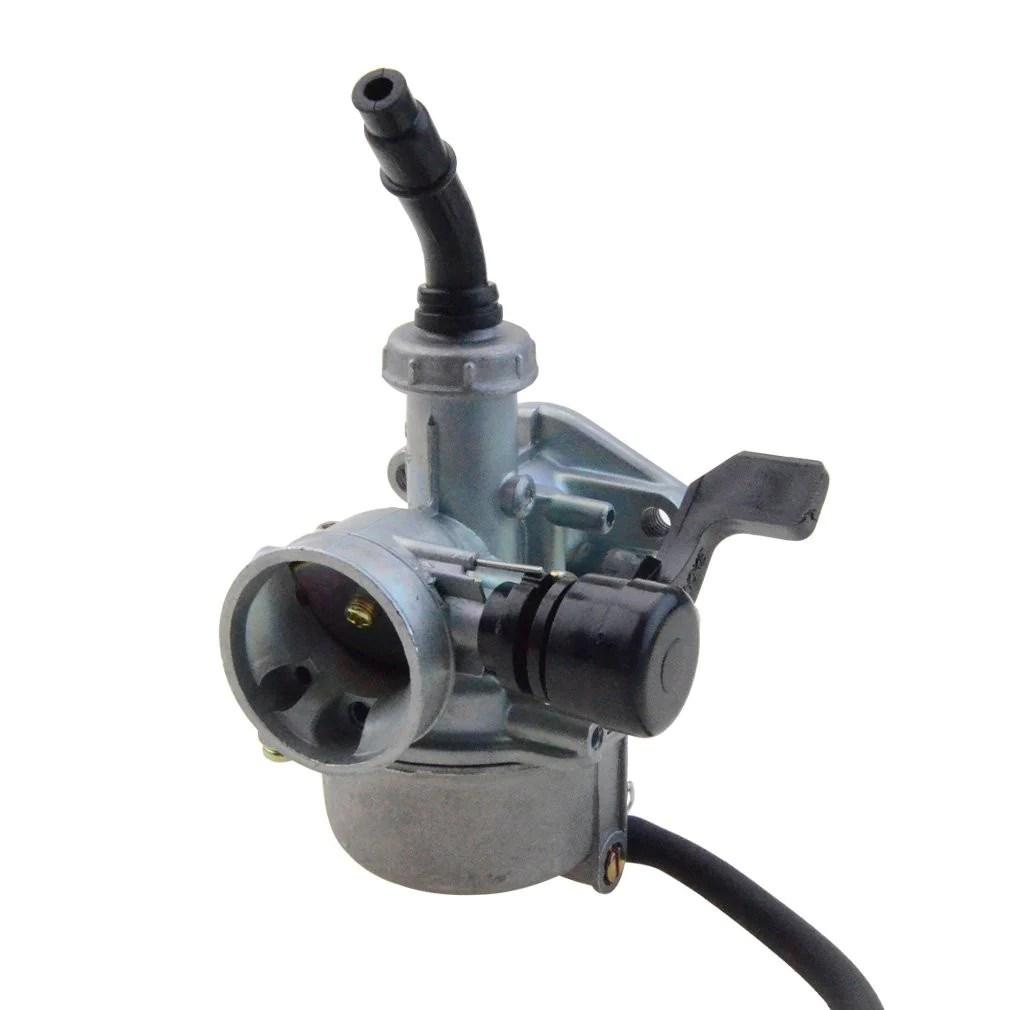 goofit pz19 carburetor with air filter carburetor rebuild kit for honda xr crf 50cc 70cc 90cc 110cc 125cc moped atv polaris taotao sunl roketa baja kazuma  [ 1010 x 1010 Pixel ]