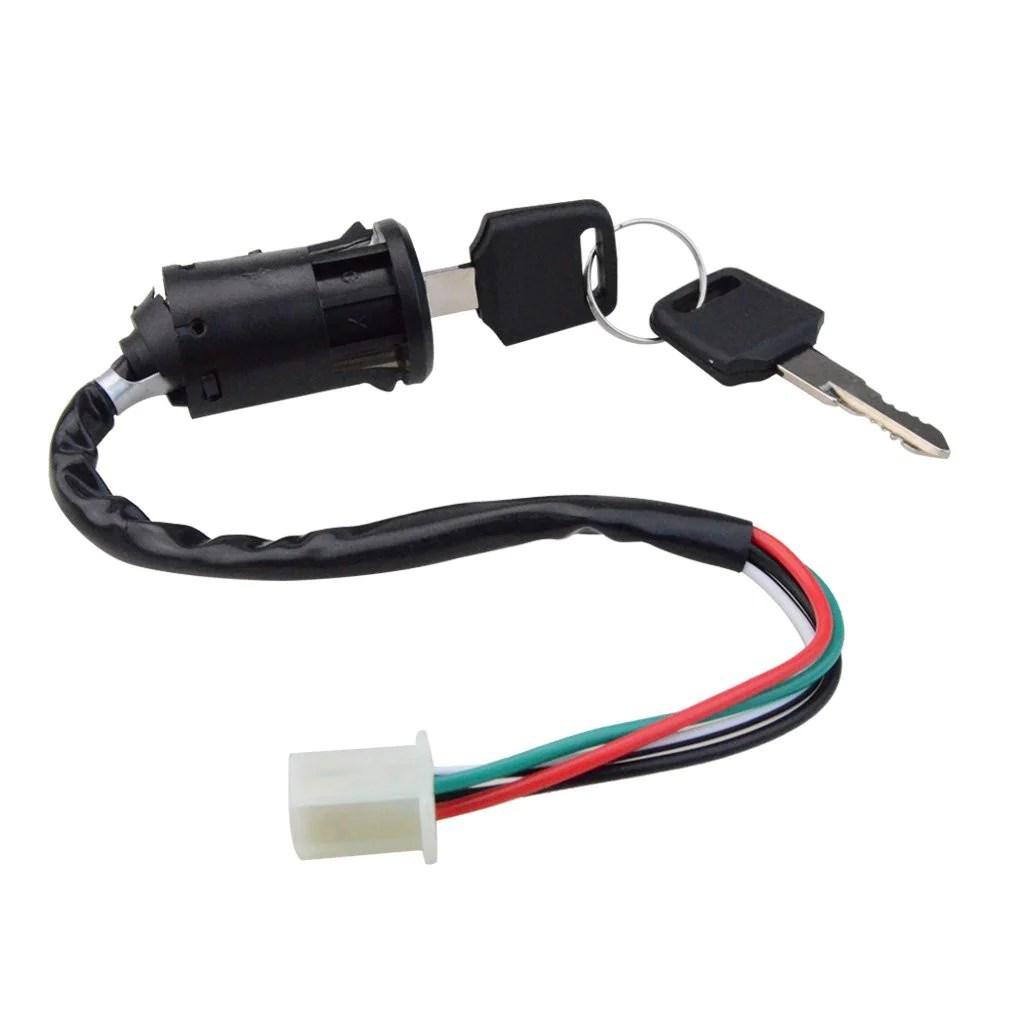 goofit ignition rebuild kit wiring harness for 110cc 125cc atv quad bike go kart buggy [ 1010 x 1010 Pixel ]