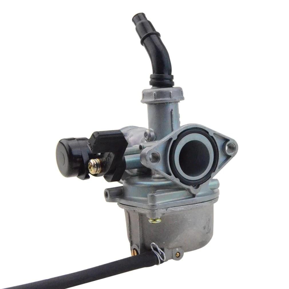 hight resolution of goofit pz19 carburetor with air filter carburetor rebuild kit for honda xr crf 50cc 70cc 90cc 110cc 125cc moped atv polaris taotao sunl roketa baja kazuma