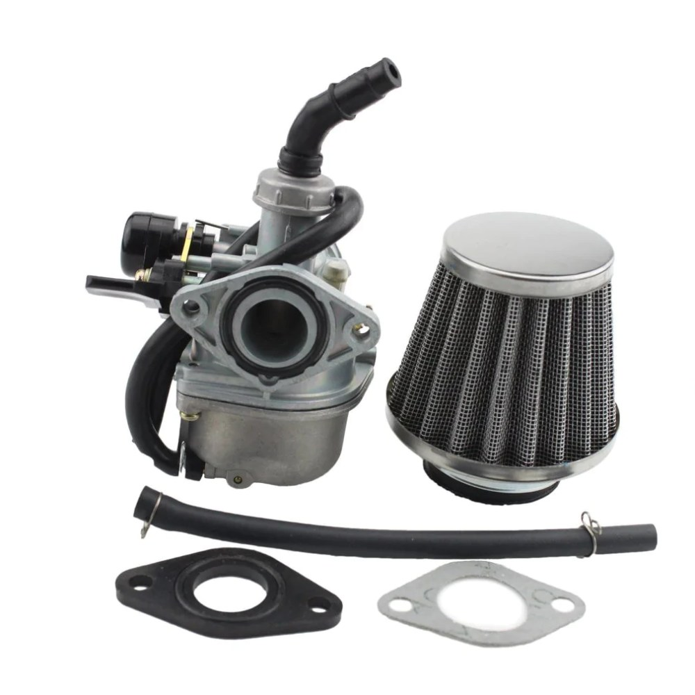 medium resolution of fuel system goofit pz19 carburetor with air filter for kazuma taotao baja polaris roketa sunl honda