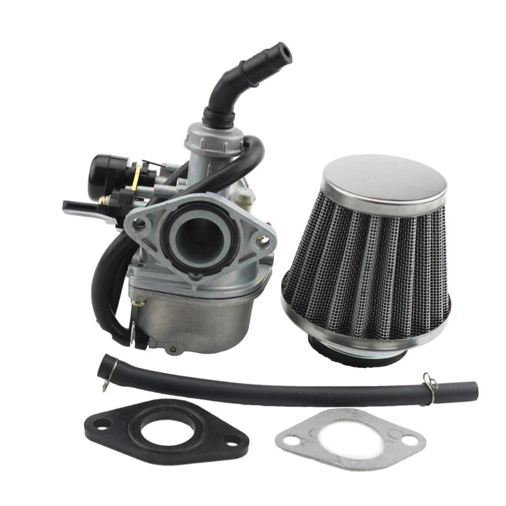 hight resolution of fuel system goofit pz19 carburetor with air filter for kazuma taotao baja polaris roketa sunl honda