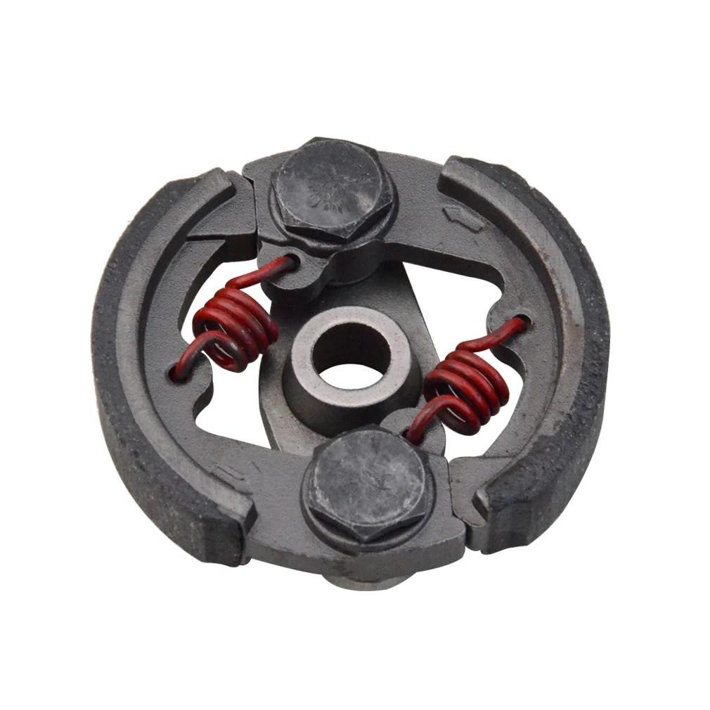 hight resolution of goofit clutch pad heavy duty for 2 stroke 43cc 47cc 49cc cag mat1 mat2 mini quad pocket bike dirt bike