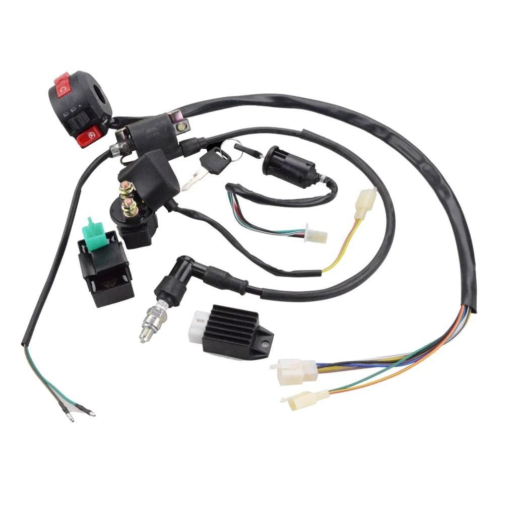 125cc atv wiring harness [ 1010 x 1010 Pixel ]