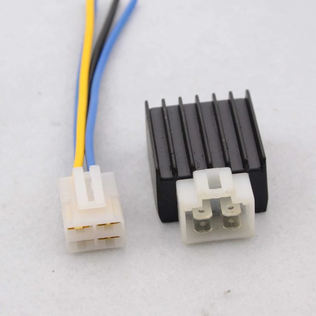4 Wire Atv Voltage Regulator Wiring Diagram Voltage Regulator Rectifier Cheap Chinese Aftermarket
