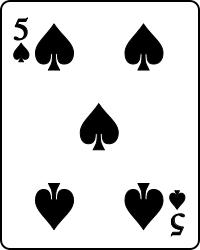 (在Cinch中,王牌5和王牌顏色相同的5是右佩德羅和左佩德羅)