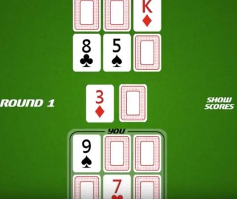 (上圖顯示了傳統的六張高爾夫遊戲的設置)