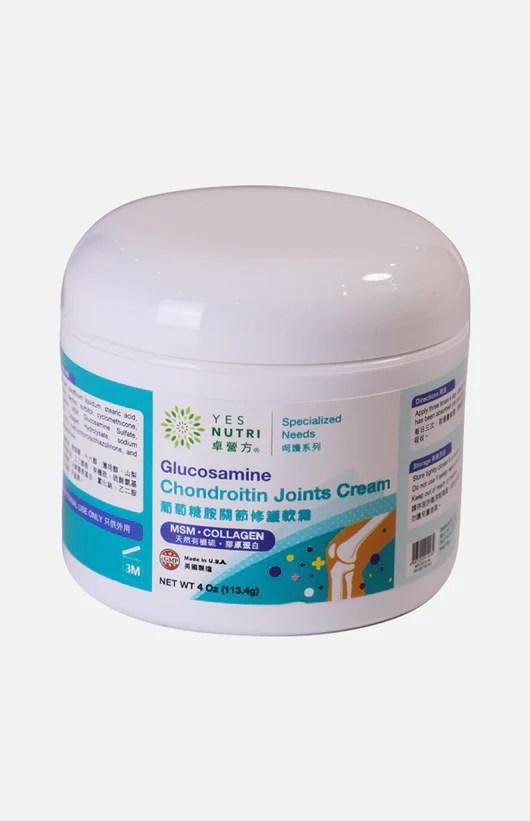卓營方葡萄糖胺關節修護軟霜 4 安士 (113.4克)   裕華網店