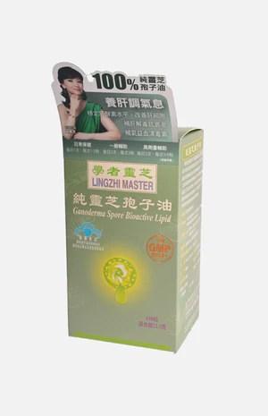 學者靈芝純靈芝孢子油   裕華網店