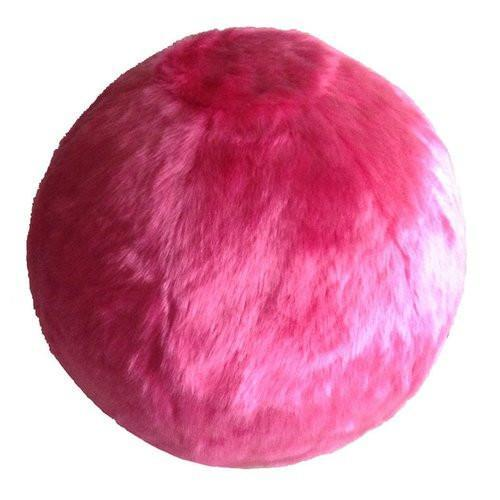 bouncy ball chair director covers canada and fuzzy yoga exercise beige by rug factory plus collection fuchsia