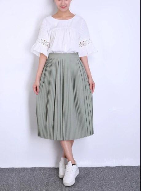 korean style vintage empire