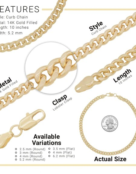 Gold Filled Jewelry Wholesale Nyc : filled, jewelry, wholesale, Anklets, Tagged,