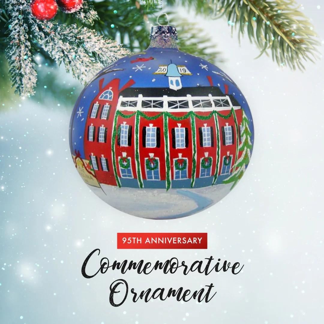 95th anniversary commemorative ornament