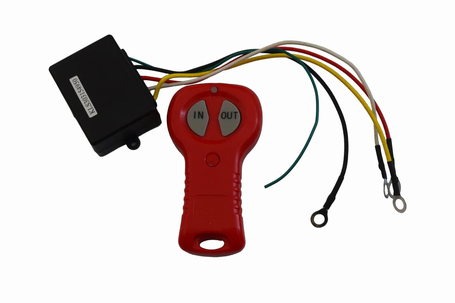 small resolution of atv utv electric winch remote control