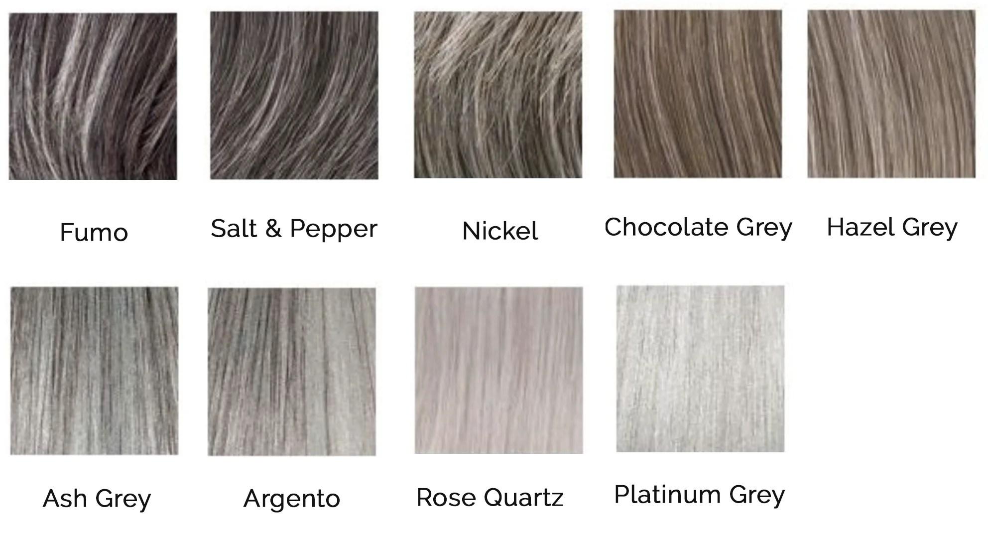 embrace grey sefe hair