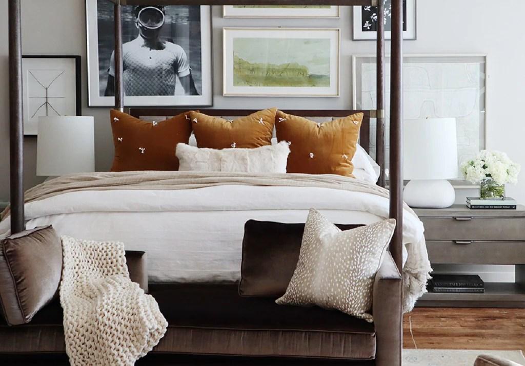 Ivory Fur Lumbar Pillow Alice Lane Home Collection