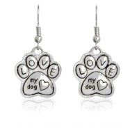 Paw Shaped Earrings  LinBuys