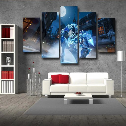 Wall Art Decor Canvas Prints Inspired By Video Games