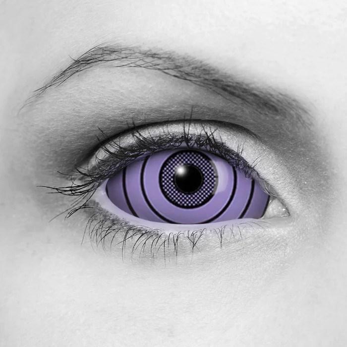 sharingan rinnegan purple sclera
