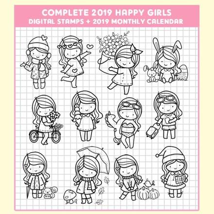 complete 2019 happy girls