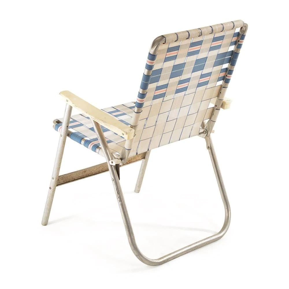 Foldable Lawn Chairs White And Blue Folding Lawn Chair