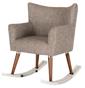 how to make a rocking chair not rock and half slip cover rockease portable rails