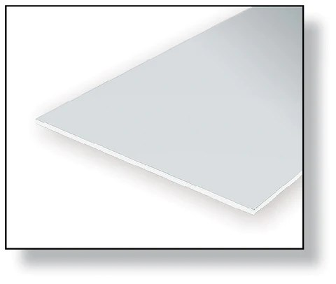 clear oriented polystyrene sheets
