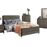 Homelegance Vestavia 5pc Bedroom Set Cal King Bed Dresser Mirror The Furniture Space