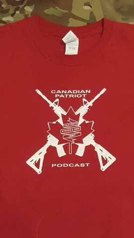 Canadian Patriot Podcast T-Shirt