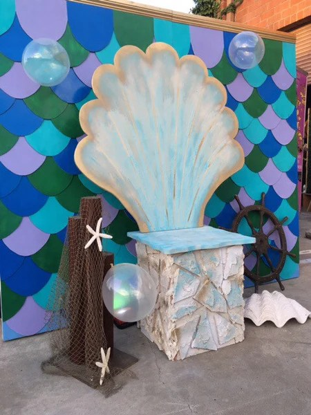 Giant Seashell Chair  Platinum Prop Rentals
