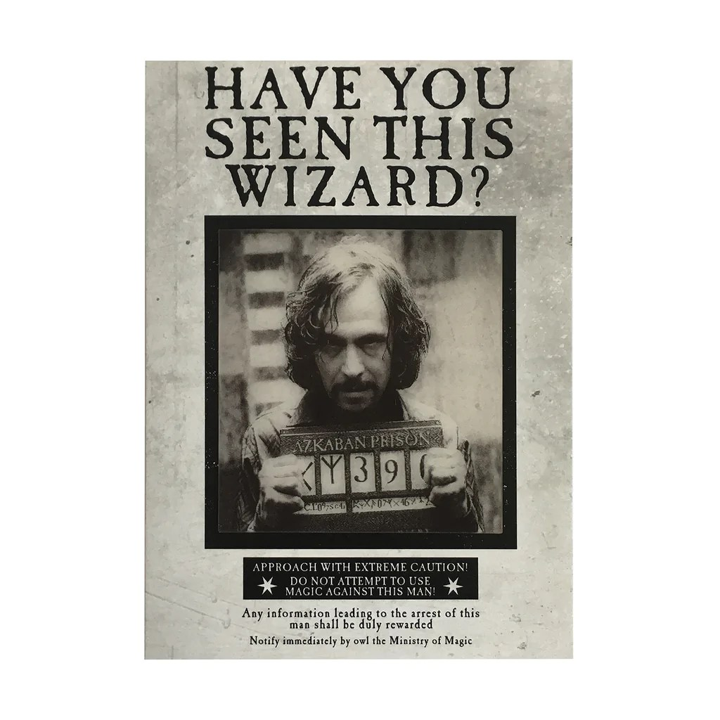 photograph regarding Have You Seen This Wizard Printable named Printable Contain Oneself Found This Wizard Sirius Black - Looking into