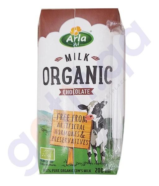 GETIT.QA | BUY BEST PRICED ARLA ORGANIC MILK CHOCOLATE ...