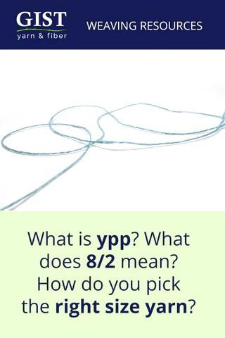 Understanding weaving yarn sizes also  gist fiber rh gistyarn