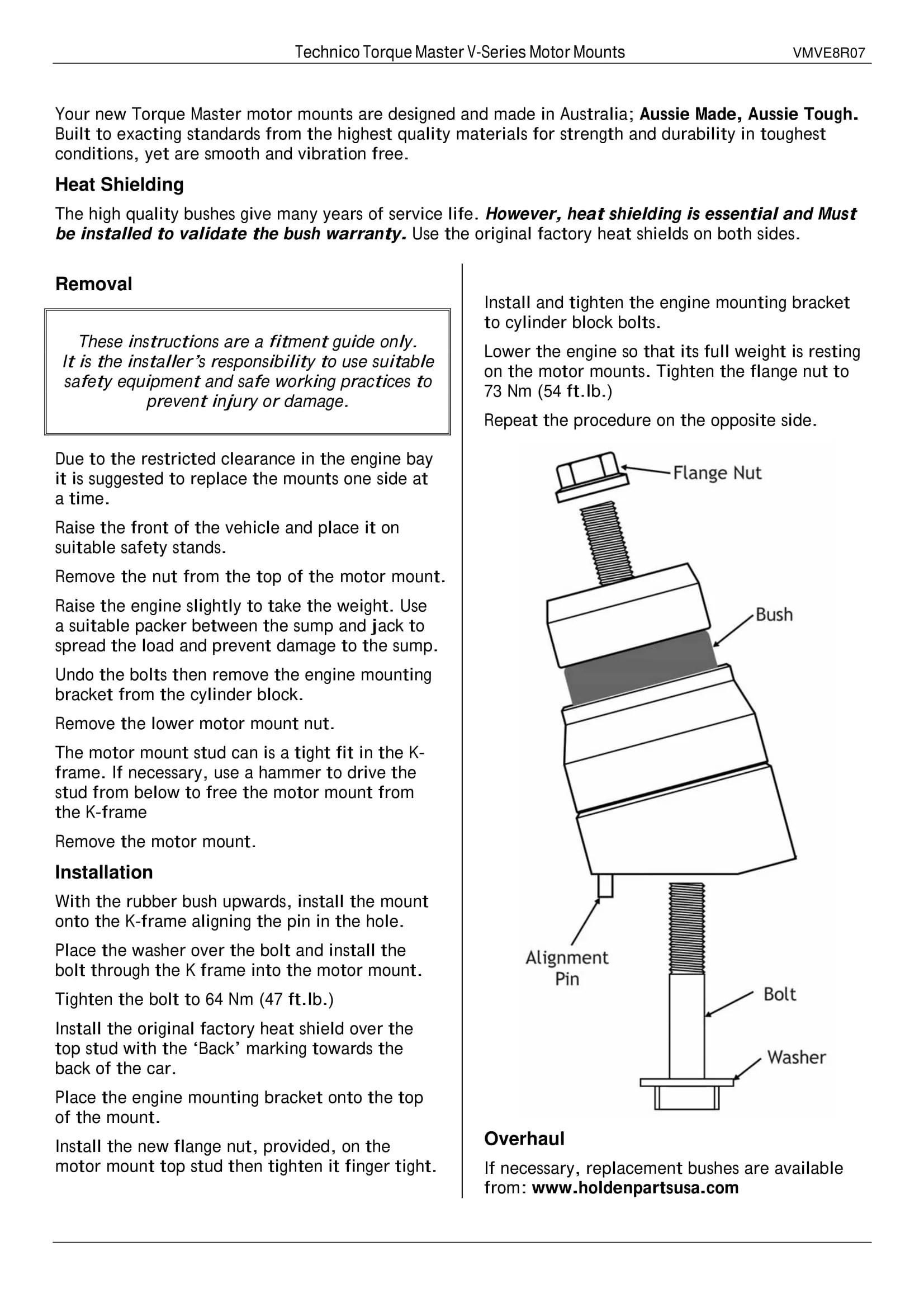 technico torque master chevy ss caprice ppv pontiac g8 billet engine [ 1653 x 2339 Pixel ]