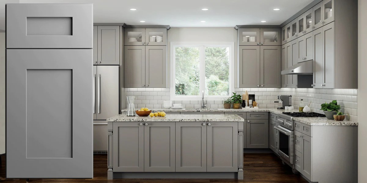 kitchen cabinets.com simple table centerpiece ideas elegant dove gray shaker panel assembled cabinets rta wood