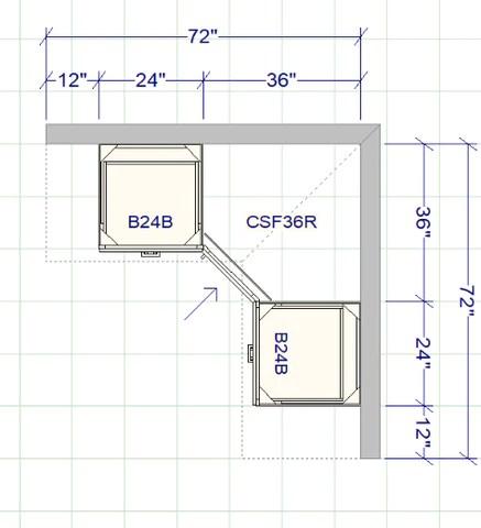 kitchen layout rta wood cabinets