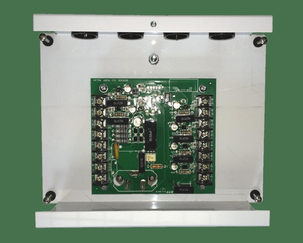 medium resolution of pump relay in metal box 6 station