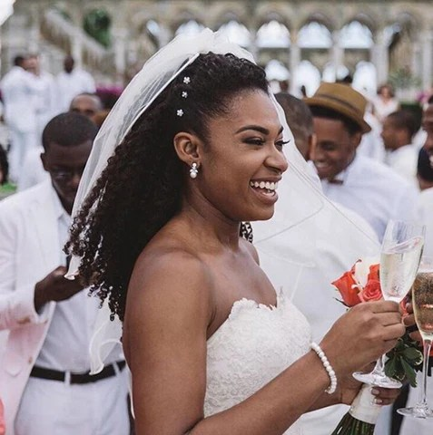 Bridal Ready 7 Natural Hairstyles For Your Wedding Day Heat