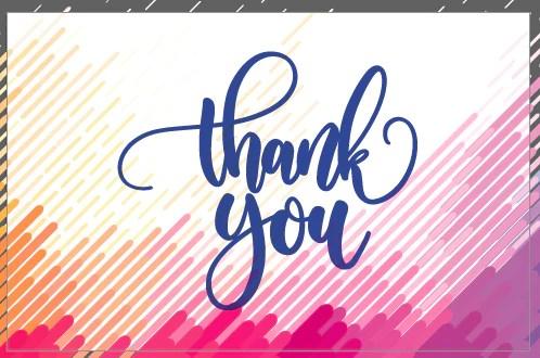 Thank You Cards Arara Designs